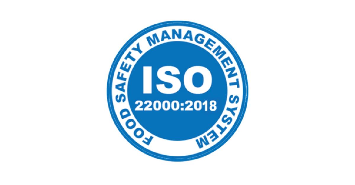 Сертифікат ISO 22000:2018