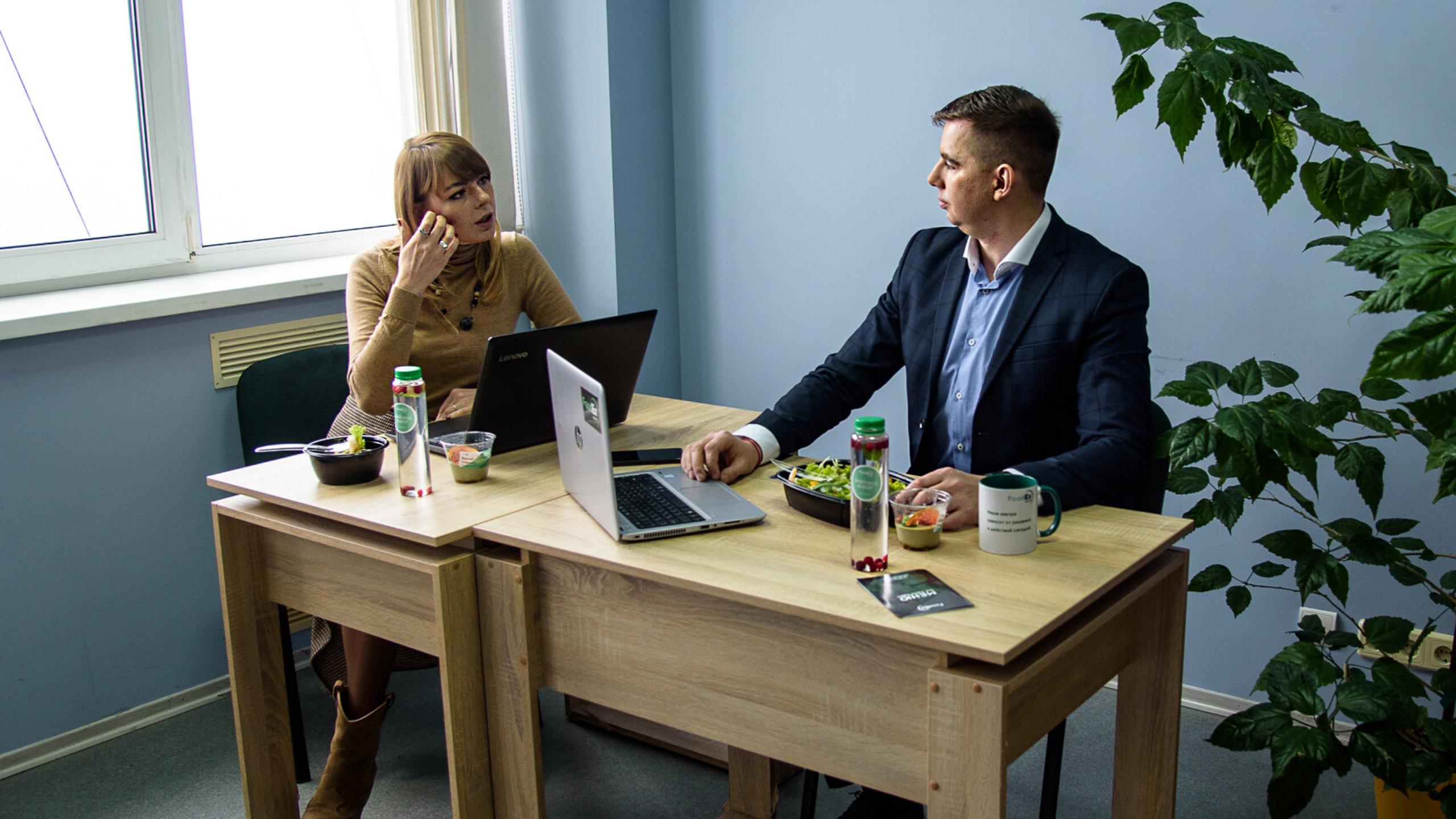 Світлана Котенко та Сергій Котенко — засновники сервісу здорового харчування FoodEx