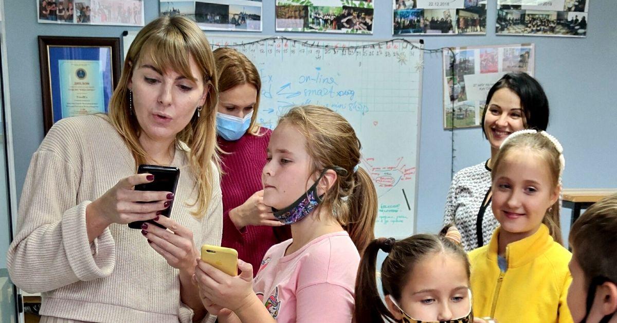 Светлана Котенко и дети