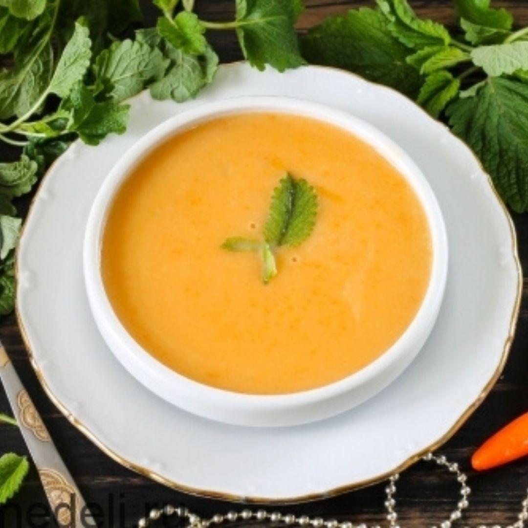 Суп-пюре з нутом по-марокканськи iceFood