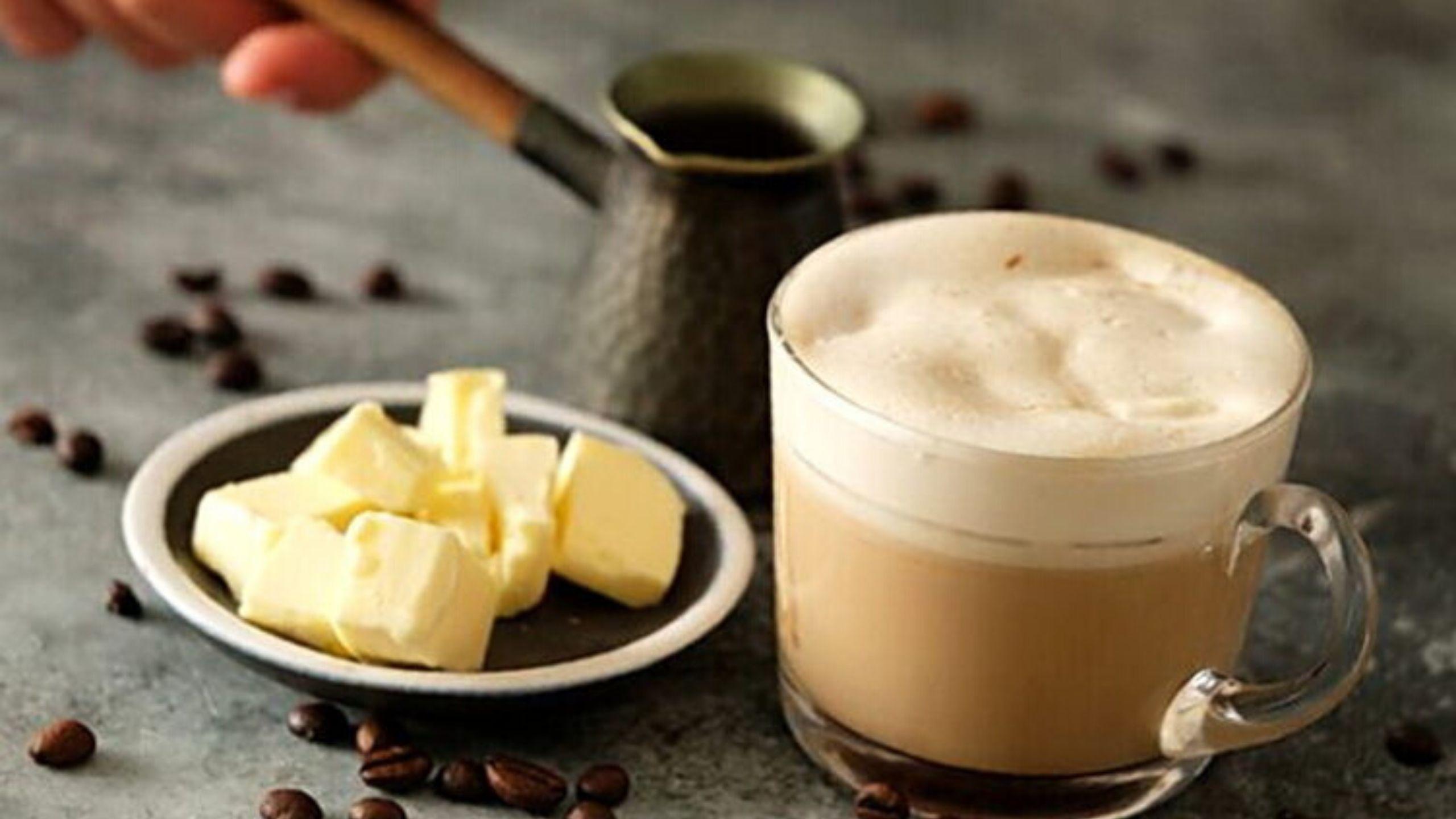 Кофе с маслом гхи и кокосовым маслом