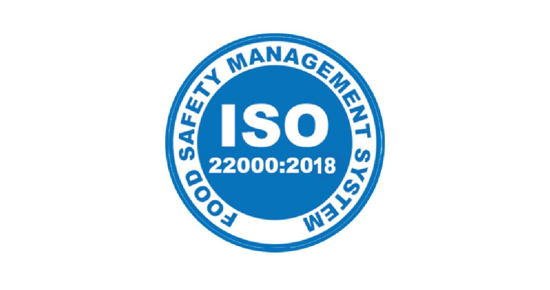 Сертификат ISO 22000:2018